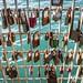 Love Locks- Frank Kitts Lagoon Footbridge, Wellington