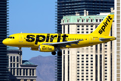 Spirit Airlines | Airbus A319 | N502NK | Las Vegas McCarran (Dennis HKG) Tags: aircraft airplane airport plane planespotting canon 7d 100400 lasvegas mccarran klas las spirit spiritairlines nks nk airbus a319 airbusa319 n502nk