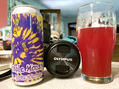 Purple Monster (Pak T) Tags: whitebirchbrewing nashua newhampshire berliner weisse sour purple monster ale can aluminumcan alcohol beerporn glass beverage bottle drink samsunggalaxys8 tmobile untappd