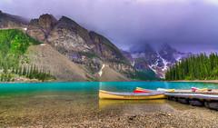 Moraine Lake, Alberta (Christy Turner Photography) Tags: morainelake alberta canada lakes mountains banff