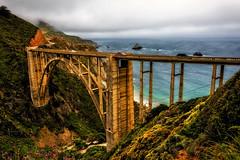 Bixby Bridge (Abel AP) Tags: bridge bixbybridge bigsur landscape outdoor scenic highway1 pacificcoasthighway pacificocean coast westcoast montereycounty california usa abelalcantarphotography twop
