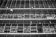 Athens (Out Of The Map) Tags: athens greece moder library education literature bw black white pattern lines books livre blanc et noir blanco negro libros libreria biblioteque stavros niarchos foundation renzo piano arquitecture interiors urban urbano interiores arquitectura biblioteca grecia atenas