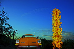 Chihuly in the Desert (oybay©) Tags: chihuly glass art abstract color colors green blue sky desertbotanicalgardens phoenix arizona red enmasse sun macro sunset papago cactus silhouette dbg neon light vw karmannghia custom vehicle car windshield outdoor karmann ghia painted grass volkswagen retro bus baywindow splitwindow splitty lowered slammed dropped t1 t2 t2a type2 type3 rat ratlook budel hoodride canon eos 400d aircooled boxer 1017 empi sprintstar flat4 lowlight rust ferris wheel irvinnu patina bigwhee