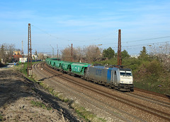 186 298, Bratislava, 30 March 2019 (Mr Joseph Bloggs) Tags: bratislava slovakia train treno bahn zug vlak railway railroad freight cargo merci lte traxx bombardier 186 298 186298