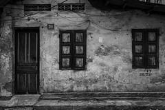 number 30 (Greg M Rohan) Tags: 越南 ベトナム ハノイ 河內 vietnam hanoi monochrome blackwhite blackandwhite bw windows door house asia d7200 nikon nikkor 2017 absoluteblackandwhite