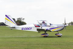G-CDCT Evektor Aerotechnik EV-97 UK - LAA Rally Sywell (benallsup) Tags: aviation aircraft plane flying fly aeroplane flyin sywell egbk laa airfield aero airplane gcdct evektor aerotechnik ev97 uk