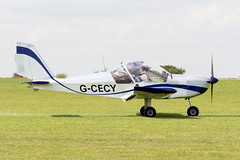 G-CECY Evektor Aerotechnik EV-97 - LAA Rally Sywell (benallsup) Tags: plane fly flying aircraft aviation aeroplane flyin airplane aero airfield laa sywell gcecy egbk ev97 aerotechnik evektor