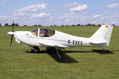 G-EXES Europa Aviation Europa XS - LAA Rally Sywell (benallsup) Tags: aviation aircraft plane flying fly aeroplane flyin sywell egbk laa airfield aero airplane gexes europa xs