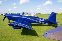 G-RATD Vans RV8 - LAA Rally Sywell (benallsup) Tags: aviation aircraft plane flying fly aeroplane flyin sywell egbk laa airfield aero airplane gratd vans rv8