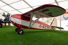 G-ECTF Comper CLA7 Swift Replica - LAA Rally Sywell (benallsup) Tags: aviation aircraft plane flying fly aeroplane flyin sywell egbk laa airfield aero airplane gectf comper cla7 swift replica