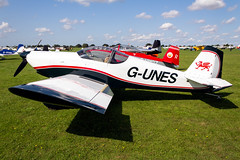 G-UNES Vans RV6 - LAA Rally Sywell (benallsup) Tags: aviation aircraft plane flying fly aeroplane flyin sywell egbk laa airfield aero airplane gunes vans rv6
