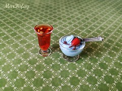very sweet breakfast (MarKifay) Tags: breakfast drink house miniature puppet 16 doll clay polymer food