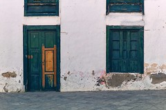 Architecture (•Nicolas•) Tags: canaryislands holidays lanzarote m9 nicolasthomas spain window door color architecture traditionalstreet