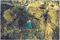 (grousespouse) Tags: vietnam 35mm analog film nikonf3 nikonseriese28mmf28 vision3 kodakvision200t analogue portrait cinematic tungsten filmphotography asia argentique lomo colour cinema cinemafilm mood atmosphere atmospheric dreamlike dreamy dreamscape dream rocks cliff namdu island colorfilm colourfilm vintage vietnamese girl phim dep psychedelic acid wash dusk goldenhour gold travel vibes scanned croplab grousespouse 2019
