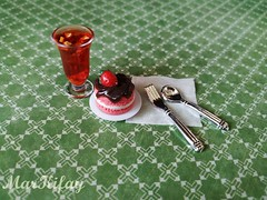 sweet breakfast (MarKifay) Tags: breakfast drink house miniature puppet 16 doll clay polymer food