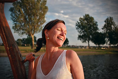 Telling funny stories at sunset (gabriele.bozzi) Tags: sailing evening laugh love funnystories nofilter happyness sunset