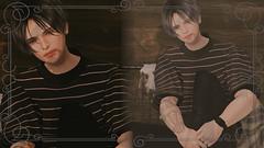 2019/07/05 (梅(Umeeeee)) Tags: catwa signature vco secondlife second life male daniel kazu gianni mesh body amitomo middle sleeve tee high waist skinny jeans g sand shark shoe barberyumyum s01