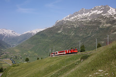 MGB Deh 4/4 52, Andermatt (diesellokguru) Tags: mgb matterhorngotthardbahn andermatt glacier gepäcktriebwagen züge zahnrad cogwheel vlaky zubacka alpenbahn alps alpine gebirge sedrun schweiz suisse
