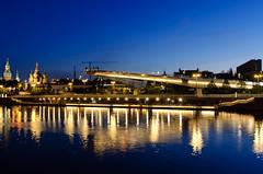 DSC_5445 (alexander.gusev) Tags: moscow night kremlin отражение river зарядье bridge mirror