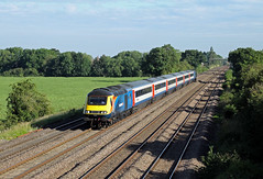 43423 43465 Cossington (CD Sansome) Tags: train trains cossington mml midland main line emt stagecoach east midlands hst high speed 43 43423 43465 1c98