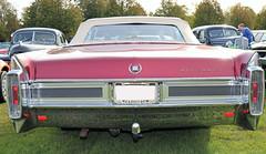 1965 Cadillac Eldorado Conv (crusaderstgeorge) Tags: crusaderstgeorge classiccars cars americancars americanclassiccars americancarsinsweden 1965cadillaceldoradoconv 1965 cadillac eldorado conv redcars landcruiser högbo sweden sverige cool veterancar
