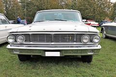 1964 Ford Galaxie 500 (crusaderstgeorge) Tags: crusaderstgeorge classiccars cars americancars americanclassiccars americancarsinsweden 1964fordgalaxie500 1964 ford galaxie 500 whitecars högbo sweden sverige cool veterancar