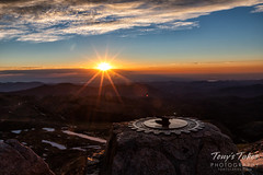July 4, 2019 - A beautiful sunrise from Mount Evans. (Tony's Takes)