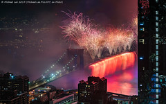 Macy's 2019 July 4 Fireworks (20190704-DSC09584-Edit) (Michael.Lee.Pics.NYC) Tags: newyork fireworks macys july4 independenceday aerial hotelview millenniumhilton night longexposure composite eastriver lowermanhattan brooklyn brooklynbridge manhattanbridge bridge architecture cityscape sony a7rm2 fe24105mmf4g zeissloxia21mmf28
