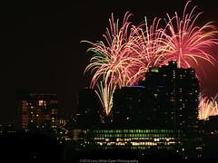 Fourth of July Fireworks (jomak14) Tags: 1stgenfullframecamera 4thofjuly2019 canon eos1ds fireworks longexposure nyc newyork rooftop tamronaf200400mmf56af