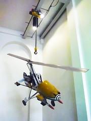 Nowhere to Land (Steve Taylor (Photography)) Tags: helicopter uk gb england greatbritain unitedkingdom london vehicle londonfilmmuseum jamesbond