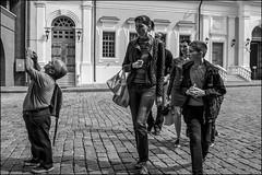 DRD160813_0594 (dmitryzhkov) Tags: urban city everyday public place outdoor life human social stranger documentary photojournalism candid street dmitryryzhkov moscow russia streetphotography people man mankind humanity bw blackandwhite monochrome tripper trip tourist sunday sunlight