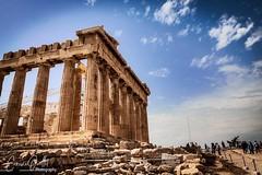 Acropolis (corineouellet) Tags: temple contrast details architecture history monument canonphoto travel athens athènes grece greece acropole acropolis