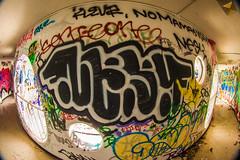 A Book About a Girl (Thomas Hawk) Tags: america california cossonhall sf sagehall sanfrancisco starburst ti treasureisland usa unitedstates unitedstatesofamerica abandoned barracks decay graffiti fav10