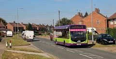 YJ12 GWL, Ipswich Buses Optare Tempo 94, Hawthorn Drive, 5th. July 2019. (Crewcastrian) Tags: ipswich buses ipswichbuses transport hawthorndrive chantry optaretempo yj12gwl 94