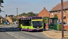 YJ12 GWK, Ipswich Buses Optare Tempo 93, Hawthorn Drive, 5th. July 2019. (Crewcastrian) Tags: ipswich buses ipswichbuses transport hawthorndrive chantry optaretempo yj12gwk 93