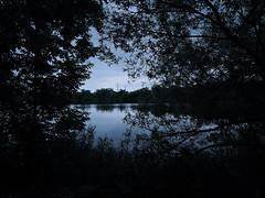 今日は曇り時々雨/cloudy with occasional rain (poota123) Tags: 2019andjuly baratoriver forest lakecrescent cloudywithoccasionalrain riverbank tower trees