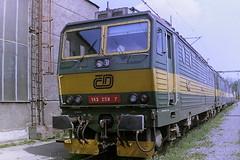 CD 163258-7 (bobbyblack51) Tags: cd class 163 skoda type 71e bobo electric locomotive 1632587 dkv bohumin 2006
