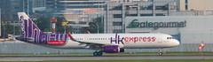Hong Kong Express A-321 at HKG (Alaskan Dude) Tags: travel asia hongkong hongkongairport planespotting planewatching aircraft airplane airplanes airlines aviation