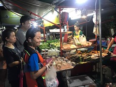 street food (ChalidaTour) Tags: thailand thai asia asian market night food street people yummy delicious lights happyplanet asiafavorites