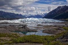 Matanuska Glacier (BDFri2012) Tags: matanuska glacier clouds mountains water pond reflection alaska ice landscape moraine snow