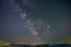 Milky Way above the city (sza85) Tags: milkyway nikon samyang night nightscape astrophotography sky star staradventurer