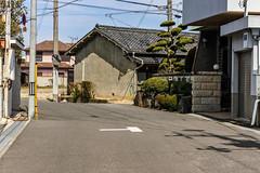 GH House (m-louis) Tags: 32mm j5 nikon1 rsg house japan kaizuka mirror osaka plant street tree 大阪 日本 貝塚 電柱 explore
