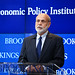 Ben Bernanke, Distinguished Fellow in Residence in the Economic Studies program at Brookings, gives opening remarks.