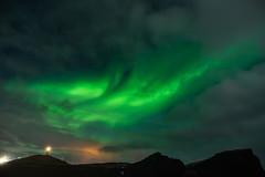 Aurora at Reykjanes Lighthouse (VChengPhotography) Tags: iceland aurora longexposure nightphotography northernlights