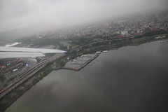 Scenes from the Air: Delta Airlines Flight 1867 (LaGuardia / NYC to Detroit) - Friday June 21st, 2019 (cseeman) Tags: airports airlines delta deltaairways airplanes travelers terminal flying delta1867 wing window windowseat clouds photosfromthesky taxiing runway delta186706212019 detroit michigan unitedstates dtw detroitmetro airbus a320 airbusa320 rainy laguardia newyork newyorkcity lga mets citifield stadium baseballstadium newyorkmets