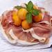 Prosciutto and cantaloupe