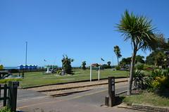 Seaside Railway Terminus (davids pix) Tags: littlehampton miniature railway norfolk gardens seaside crazy golf blue sky 2019 04072019