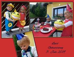 Party ! Party ! Party ! (ursula.valtiner) Tags: puppe doll luis bärbel künstlerpuppen masterpiecedoll geburtstag birthday geburtstagsparty birthdayparty