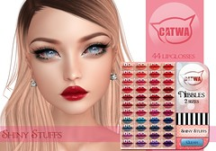 Catwa Lipglosses @ TLC :) (Tarani Tempest) Tags: secondlife shinystuffs catwa