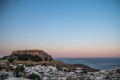 Vue sur Lindos et son acropole (florian.jacquelin) Tags: grèce greece rhodes île island lindos acropole vue mer sea sun soleil holidays vacances